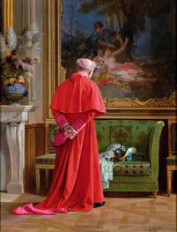 Jehan Georges Vibert | The View, undated | Giclée Canvas Print