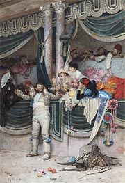 Jehan Georges Vibert | The Bullfighter's Adoring Crowd, Undated | Giclée Canvas Print