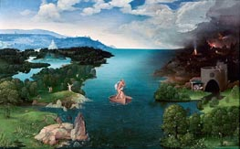 Joachim Patinir | Charon Crossing the Styx, c.1520/24 | Giclée Canvas Print