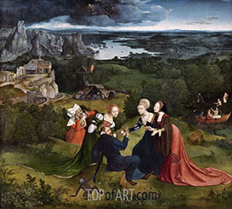 Joachim Patinir | The Temptations of Saint Anthony the Abbot, c.1520/24 | Giclée Canvas Print