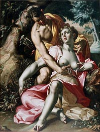 Joachim Wtewael | Cephalus and Procris (The Death of Procris) | Giclée Canvas Print