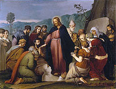 The Raising of Lazarus, 1808 | Overbeck | Giclée Canvas Print