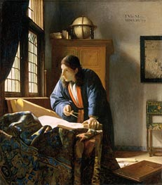 Vermeer | The Geographer | Giclée Canvas Print