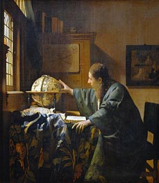 Vermeer | The Astronomer | Giclée Canvas Print