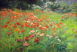 John Ottis Adams | In Poppyland (Poppy Field), 1901 | Giclée Canvas Print