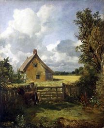 Constable | Cottage in a Cornfield | Giclée Canvas Print