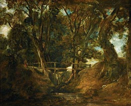 Constable | Helmingham Dell, Suffolk | Giclée Canvas Print