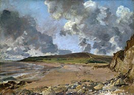 Constable | Weymouth Bay - Bowleaze Cove and Jordon Hill | Giclée Canvas Print