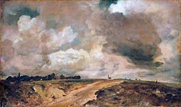 Constable | Road to the Spaniards, Hampstead, 1822 | Giclée Canvas Print