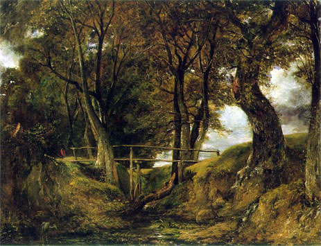 Helmingham Dell, c.1825/26 | Constable | Painting Reproduction