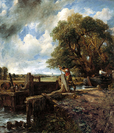 The Lock, 1824 | Constable | Giclée Canvas Print