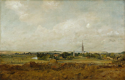 View of Salisbury, undated | Constable | Giclée Canvas Print