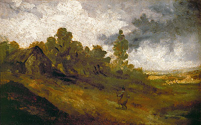 Hampstead Heath, c.1820/22 | Constable | Painting Reproduction