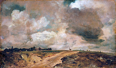 Road to the Spaniards, Hampstead, 1822 | Constable | Giclée Canvas Print