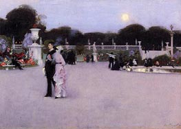 Sargent | In the Luxembourg Gardens | Giclée Canvas Print
