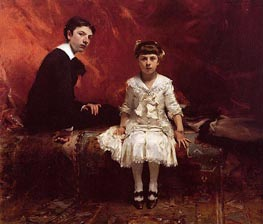 Sargent | Portrait of Edouard and Marie-Louise Pailleron | Giclée Canvas Print