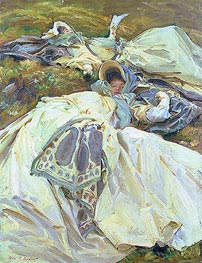 Sargent | Two Girls in White Dresses | Giclée Canvas Print