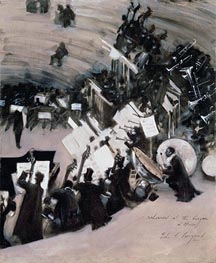 Sargent | Rehearsal of the Pasdeloup Orchestra at the Cirque d'Hiver | Giclée Canvas Print