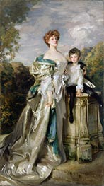 Sargent | Lady Warwick and her Son | Giclée Canvas Print