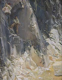 Sargent | Marble Quarries at Carrara | Giclée Canvas Print