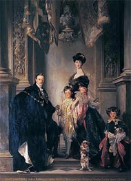 Sargent | The 9th Duke and Duchess of Marlborough and their Two Sons | Giclée Canvas Print
