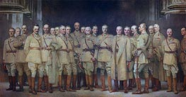 Sargent | General Officers of World War I, 1922 | Giclée Canvas Print