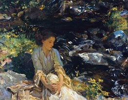 Sargent | The Black Brook, c.1908 | Giclée Canvas Print