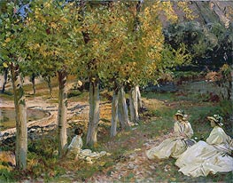 Sargent | Autumn Leaves, 1913 | Giclée Canvas Print
