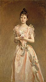 Sargent | Miss Grace Woodhouse, 1890 | Giclée Canvas Print