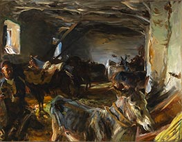 Sargent | Stable at Cuenca | Giclée Canvas Print