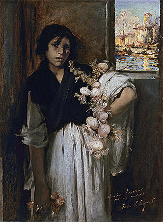 Venetian Onion Seller, 1882 | Sargent | Painting Reproduction