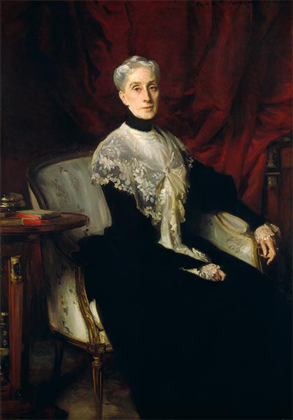Ellen Peabody Endicott (Mrs. William Crowninshield Endicott), 1901 | Sargent | Painting Reproduction