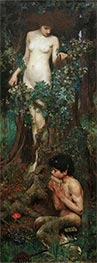 Waterhouse | A Hamadryad, 1893 | Giclée Canvas Print