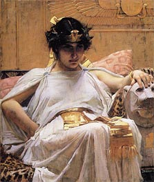 Waterhouse | Cleopatra, 1888 | Giclée Canvas Print