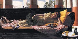 Waterhouse | Dolce Far Niente, 1880 | Giclée Canvas Print