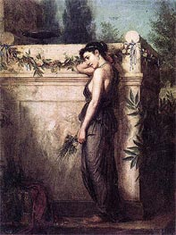 Waterhouse | Gone, But Not Forgotten, 1873 | Giclée Canvas Print