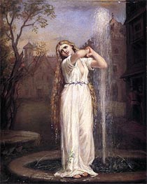 Waterhouse | Undine, 1872 | Giclée Canvas Print