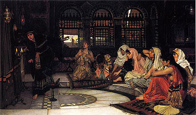 Consulting the Oracle, 1884 | Waterhouse | Giclée Canvas Print