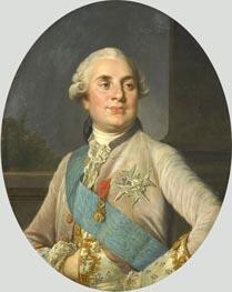 Joseph-Siffred Duplessis | Portrait of Louis XVI, c.1775/93 | Giclée Canvas Print
