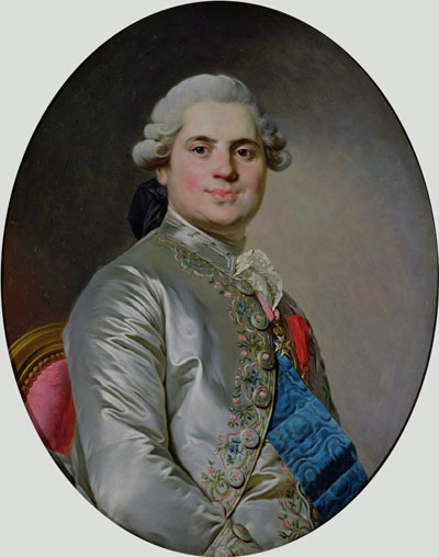 Portrait of Louis of France, Count of Provence, future King Louis XVIII, 1778 | Joseph-Siffred Duplessis | Giclée Canvas Print