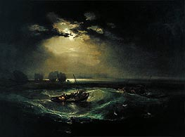 J. M. W. Turner | Fishermen at Sea | Giclée Canvas Print