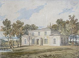 J. M. W. Turner | Mansion with Wooded Grounds | Giclée Paper Print