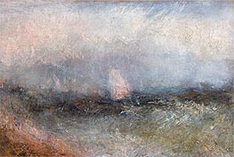 J. M. W. Turner | Off the Nore (Squally Weather) | Giclée Canvas Print