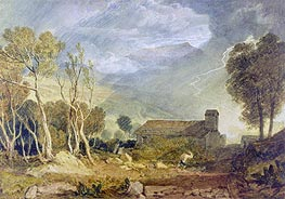 J. M. W. Turner | Patterdale Old Church | Giclée Paper Print