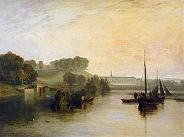J. M. W. Turner | Petworth, Sussex, the Seat of the Earl of Egremont: Dewy Morning | Giclée Canvas Print