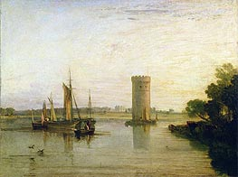 J. M. W. Turner | Tabley, the Seat of Sir J.F. Leicester (Calm Morning) | Giclée Canvas Print