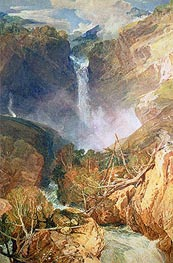J. M. W. Turner | The Great Falls of the Reichenbach | Giclée Paper Print