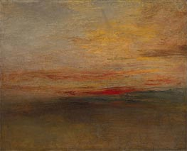 J. M. W. Turner | Sunset, c.1830/35 | Giclée Canvas Print