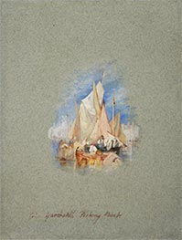 J. M. W. Turner | Great Yarmouth Fishing Boats, c.1827 | Giclée Paper Print
