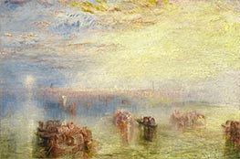 J. M. W. Turner | Approach to Venice, 1844 | Giclée Canvas Print